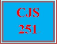 CJS 251 Week 2 Courtroom Participant Chart