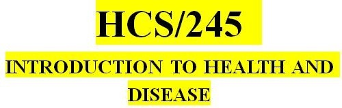 HCS 245 Week 5 Effects of Disease on the Health Care Industry: Respiratory Health