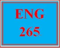 ENG 265 Week 2 Short Story Plot and Setting Critique