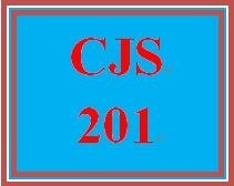 CJS 201 Week 2 Interest Assessment