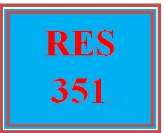 RES 351 Week 1 Understanding Business Research