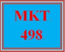 MKT 498 Week 3 Integrated Marketing Communication Target Market