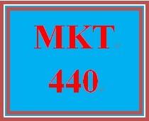MKT 440 Week 4 Digital Marketing Plan – Part II