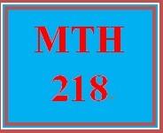 MTH 218 Week 2 Student GPA Scenarios