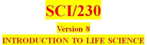 SCI 230 Week 7 Invertebrates and Vertebrates Worksheet