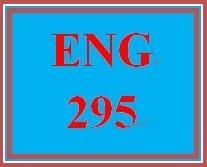 ENG 295 Week 4 Fiction