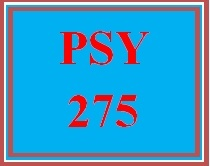 PSY 275 Week 3 Disorders Related to Mood Quiz