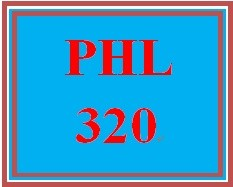 PHL 320 Week 4 Problem Solutions