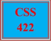 CSS 422 Week 5 Individual: Public Cloud Development Presentation