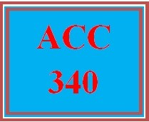 ACC 340 Week 3 Learning Team: Team Database and Reports