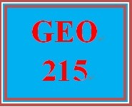 GEO 215 Week 1 Geography and Technology Worksheet