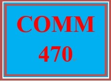 COMM 470 Week 2 Virtual Workplace Communication Plan, Preparation