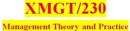 XMGT 230 Week 3: CheckPoint: Organizational Plans