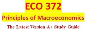 ECO 372 Week 2 Economic Forecasting