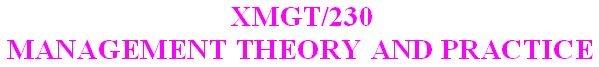 XMGT 230 Week 3 DQ 2