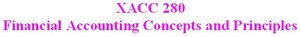XACC 280 Week 5 DQ 2