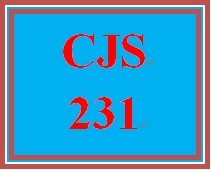 CJS 231 Week 4 Policy Issues