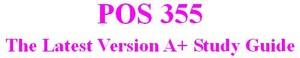 POS 355 Week 5 Learning Team: UNIX/Linux Versus Mac Versus Windows Presentation