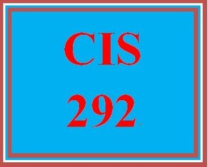 CIS 292 Week 4 Individual Operating System Portfolio – Network Worksheet