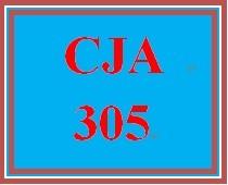 CJA 305 Week 5 Sentencing Proposal