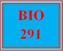 BIO 291 Week 5 WileyPLUS Worksheets