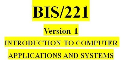 BIS 221 Week 3 Types of Electronic Commerce Activity
