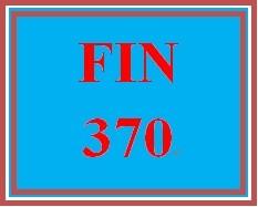 FIN 370 Week 3 Financial Ratio Analysis