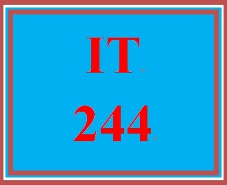 IT 244 Week 2 Individual Information Security Policy – Executive Summary