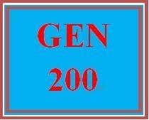 GEN 200 Week 3 Critical Thinking