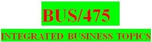 BUS 475 Week 5 Final Strategic Plan Presentation