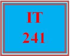 IT 241 Week 3 Wireless Network Components