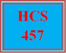 HCS 457 Week 5 Facility Spectrum