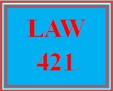 LAW 421 Week 4 Employee or Not