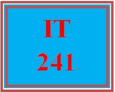 IT 241 Week 7 Presenting Wireless Solutions to the Client