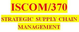 ISCOM 370 Week 4 Business Forecasting