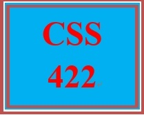CSS 422 Week 4 Learning Team: Functional Requirements and Design Decisions