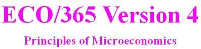 ECO 365 Week 5 DQ 5