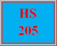 HS 205 Week 1 Human Services Organization Program Review