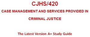 CJHS 420 Entire Course