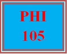 PHI 105 Week 3 Augustine and Skepticism
