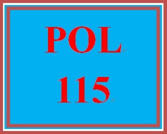 POL 115 Entire Course
