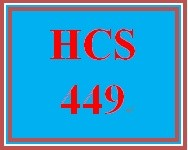 HCS 449 Week 5 Program: Self-Reflection