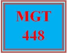 MGT 448 Week 1 Globalization.