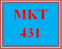 MKT 431 Week 1 LivePlan Opportunity