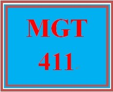 MGT 411 Week 3 Aspects of Design Thinking Paper or Presentation