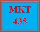 MKT 435 Week 3 Internal and External Influences Marketing Paper