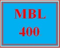 MBL 400 Week 2 Individual: Mobile Experience