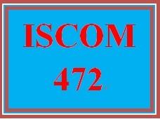 ISCOM 472 Entire Course