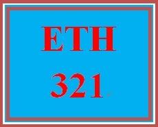 ETH 321 Week 5 Quiz 5