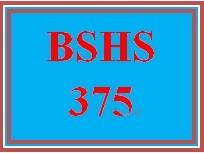 BSHS 375 Week 4 Database: Creating a Pivot Chart